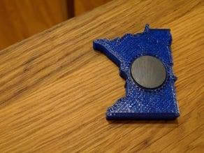 Minnesota Fridge Magnet