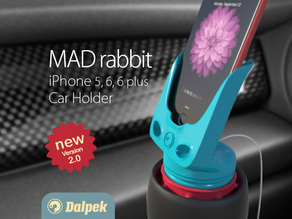 MAD rabbit - iPhone Car Holder v2.0