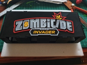 Zombicide Invader Card Box Top