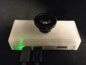 Raspberry Pi Zero Flex Camera Case for magnetic lens kit