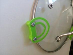 Kitchen pot - Lid holder