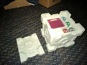 Companion Cube Deckbox - 75 Card