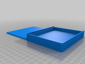 Thin Box with Sliding Lid
