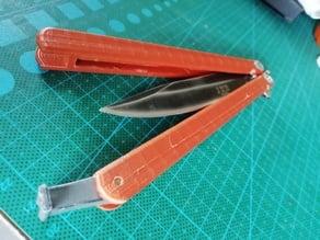 Butterfly Knife Handle