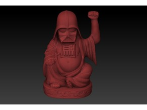 Darth Vader Lucky Buddha