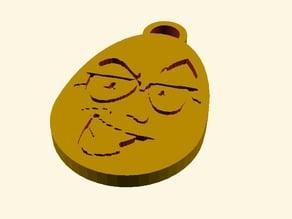 Northernlion Egg Keychain