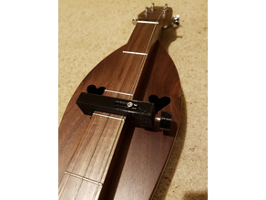Capo and Noter for Appalachian Dulcimer