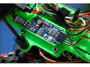MAVLink-OSD Holder (Warthox)
