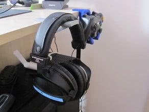 Gaming g-clamp hanger set