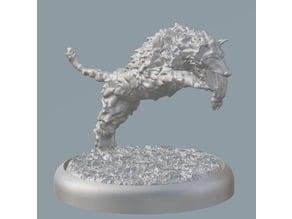 Warg / Wolf miniature