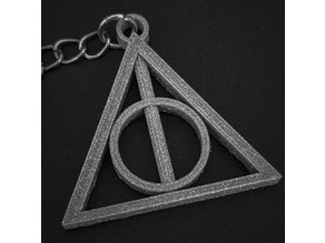 Deathly Hallows Keychain - Harry Potter