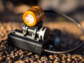 Jones bar or 'space saver' light mount adapter