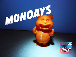 Teddy Bear Angry Monday