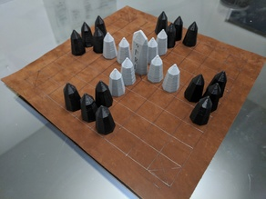 Hnefatafl Board Game Set
