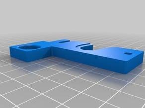 ROBO3D R1+Plus Quick Release Plate - E3D v6 Hotend (slight mod)