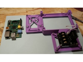 Anet A8 Mainboard Mosfet and Raspberry Pi 2 adapter.