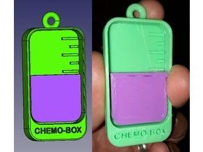Llavero solidario Chemobox