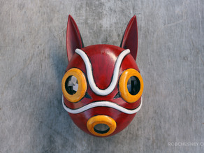 San's Mask for cosplay, from Princess Mononoke