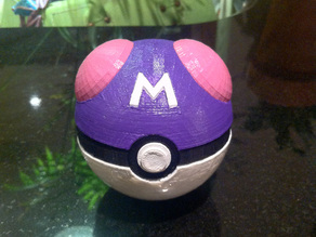 Master Ball, with magnetic clasp (Fixed Lid)