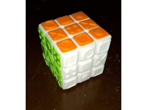 Rubik's Cube shape faces