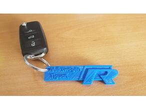 Vw Tiguan R-Line keychain