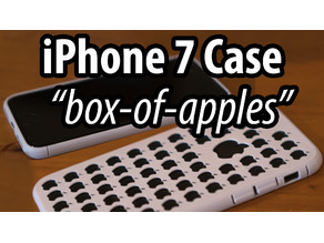 "iPhone 7 Case ""box of apples"""