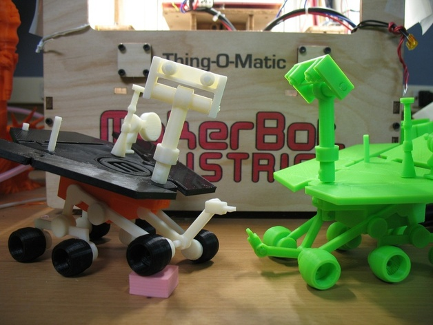 mars rover thingiverse - photo #11