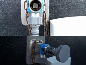 Outdoor water faucet 7mm
