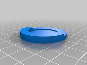 25mm to 40mm wargaming base adapter