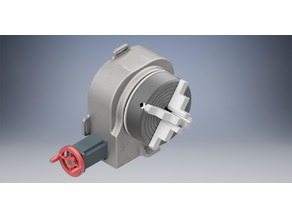 Automated divider head with a four jaw chuck