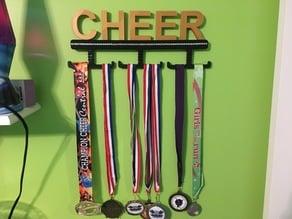 Cheer, Cheerleading Medal Wall Display Rack