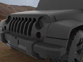 Jeep JK Grill