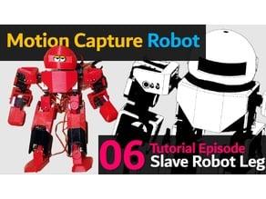 Humanoid Robot Choom EP06 (Leg parts) (Arduino Based : Slave)
