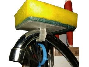 Clip on Faucet Sponge platform (18mm diameter)