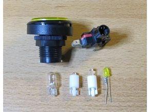 Led base for T10 socket