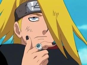 Naruto shippuden: Deidara kanji (Seiryu) Necklace