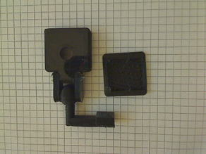 raspberry pi camera mount on ethernet socket