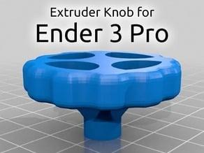 Extruder Knob - Creality Ender 3 Pro