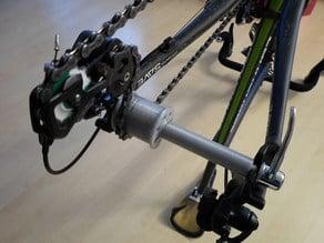 Fahrrad Transportsicherung / Rear Wheel Hub Dummy for Transportation