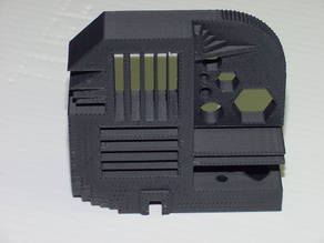 Printing Standard Test Part for 3D Printers