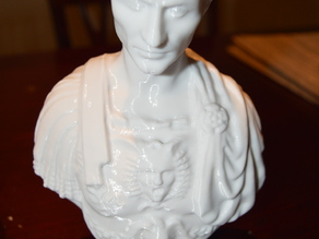 Caesar Bust Solidified