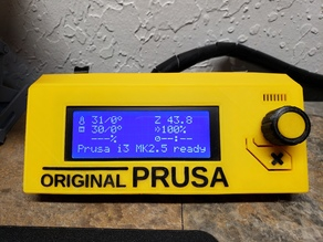 Text for Original Prusa i3 MK2/MK3 LCD