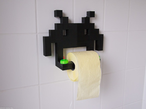 Invader Toilet Paper Holder