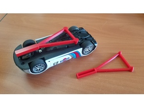 Slot Car Stand
