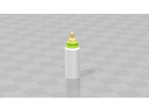 Sylvanian Families or Playmobil compatible baby bottle