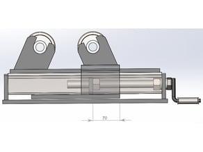Adjustable rollers for welding.