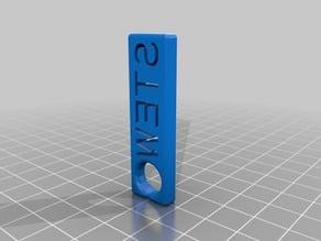 STEW keychain