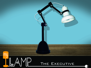 myLamp The Executive Desk Lamp