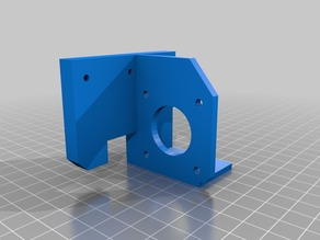 Adapter Prusa extruder XL3D