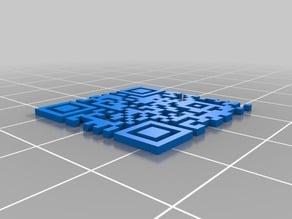 QR Code Generator for OpenSCAD